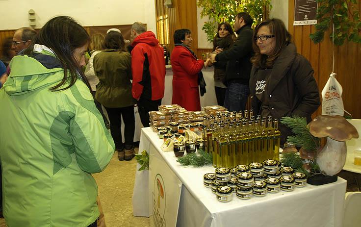 Venta de productos elaborados a base de setas y hongos