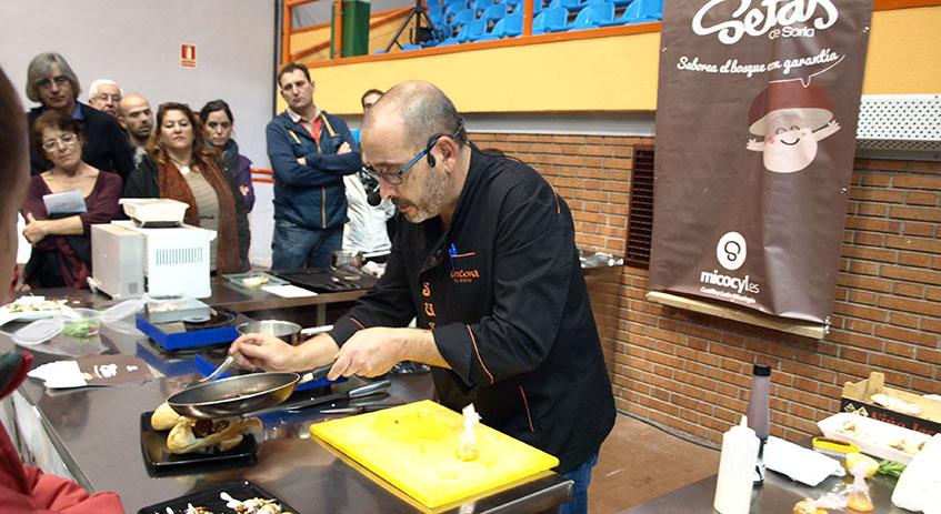 Cocinamos en Mercastas con Jesús Jiménez del Restaurante Cintora de El Royo (Soria)