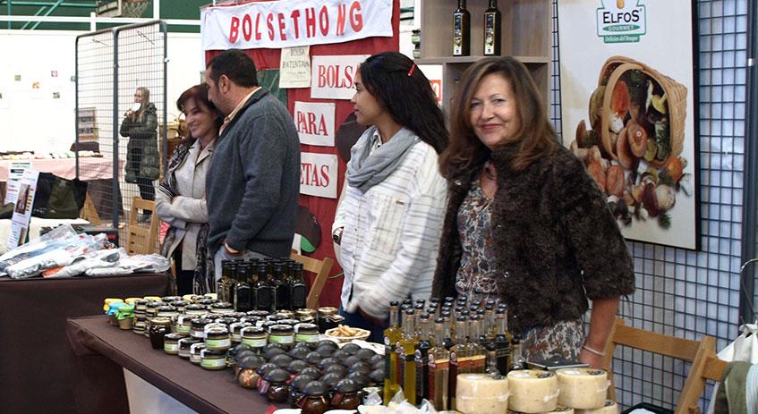 Elfos Gourmet. Expositor de Mercasetas en San Leonardo de Yagüe